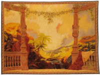 Panoramique - Hand Woven Tapestry