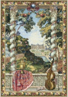 Castle - Belgian Hand Woven Tapestry