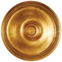 "Architectural Accents - Classic Gold Gilt - 24"" Diameter x 1.5"" thick, 1280 Round Decorative Ceiling Medallion"