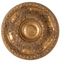 "Architectural Accents Classic Acanthus Leaf - 1279 Round Gilt Decorative Ceiling Medallion - 23"" Diameter X 2.5"" thick"