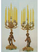 "000079901 29.92"" Right and Left Facing Candelabra Set - Bespoke"