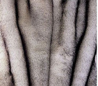 "Norwegian Fox Faux Fur Throw - Natural looking & Luxuriously Soft - Large 58"" X 59"""