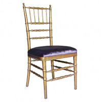Late Georgian Sheraton Bamboo Style - 40 Inch Handcrafted Reproduction Dining Side | Accent Gala Chair - Upholstery 067 - Metallic Gold Luxurie Furniture Finish NF9