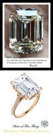 Emerald Cut Engagement Rings, Rose Gold, Wedding Rings, Simulated Diamond, Diamonds, Wedding Sets, 6600