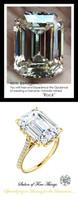 Emerald Cut Engagement Rings, Yellow Gold, Wedding Rings, Simulated Diamond, Diamonds, Wedding Sets, 6601