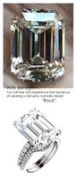 Emerald Cut Engagement Rings, White Gold, Wedding Rings, Simulated Diamond, Diamonds, Wedding Sets, 6805
