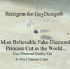 • GuyDesign® - Engagement, Prince of Wales, Halo Bridal Design #460221.6.