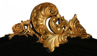 Fine Handcrafted Period Furniture - Painted Luxurie Furniture Finish GEBN Ebony Black with Gold