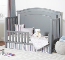 Sorelle Glendale toddler rail in gray