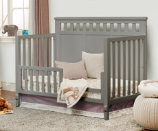 Sorelle Madrid toddler rail in gray