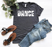 New! DANCE CREW Classic Cotton Poly Blend T-Shirt.