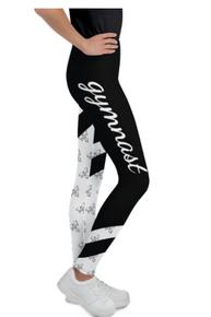 New! FASHIONISTA GYMNAST Sensational Precision-Cut Leggings.