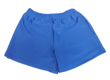 Boys' Blue Gymnastics Shorts