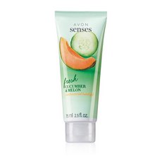 New! Avon Senses Fresh Cucumber & Melon Antibacterial Hand Gel. FREE Shipping!