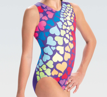 New! FALLING HEARTS Girls' Leotard. Ships Next Business Day. FREE Shipping!