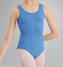CLASSIC PERIWINKLE TANK Premium Dance Leotard! FREE Shipping!