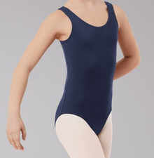 New! CLASSIC NAVY DANCE TANK! Navy Blue Dance Leotard! FREE Shipping!