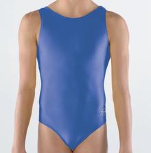 SAPPHIRE ROYALE Girls' Gymnastics Leotard: Sapphire Nylon Lycra. FREE Shipping!