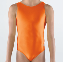 Price Drop! ORANGE CRUSH Girls' Gymnastics Leotard: Orange Nylon Lycra. FREE Shipping!