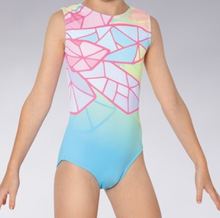 New! PASTEL PRISM Girls' Gymnastics/Dance Leotard.  FREE Shipping and Free Scrunchie!