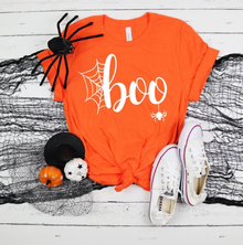 New! BOO! Halloween T-Shirt. Orange or Black. FREE Shipping!