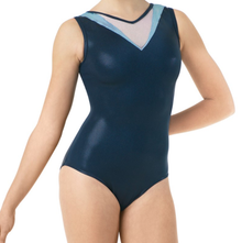 New! BLUE ARROW Girls' Dance/Gymnastics  Leotard.  FREE Shipping and Free Scrunchie!