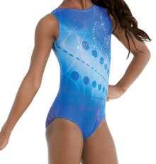 New! BLUE HORIZON Girls' Dance  Leotard.  FREE Shipping and Free Scrunchie!