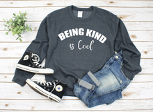 New! BEING KIND IS COOL Sweatshirt. FREE Shipping!
