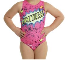 New! LIMITLESS Girls' Gymnastics Leotard.  FREE Shipping.