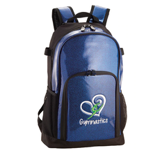 New! GYMNASTICS DAZZLE PACK: Dazzling Embroidered Backpack.