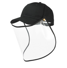 New! UNISEX FACE SHIELD With Removable Baseball Cap.