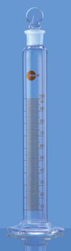 Measuring Cylinder with Stopper, 250ml
