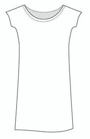 Cap Sleeve Dolman Dress (DR997)