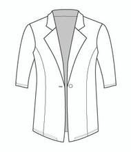 Half Sleeve Boyfriend Blazer (455H)