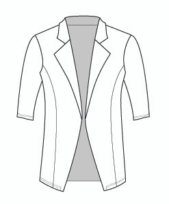 Half Sleeve Tunic Riding Jacket (435H)