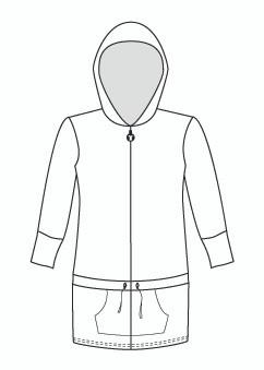 Half  Sleeve Anorak Hoody (930H)