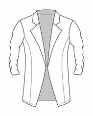 Shirred Sleeve Tunic Jacket