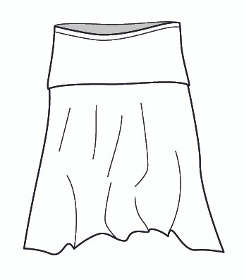The Everybody Skirt (M5989)
