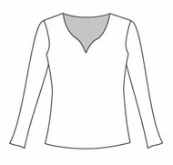 Plus Size Long Sleeve Morocco Neck (PP103L)