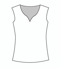 Plus Size Sleeveless Morocco Neck (PP103T)