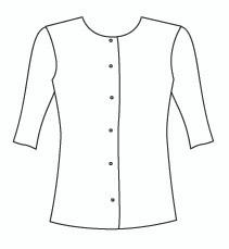 Plus Size Half Sleeve Cardigan (PP118H)