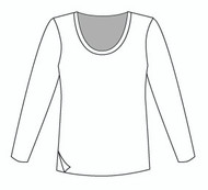 Easy Fit Long Sleeve U Neck (1406L)