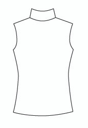 Sleeveless Mock (212T)