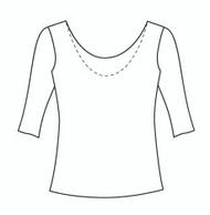 Half Sleeve Reversible Scoop (1061H)