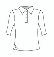 Half Sleeve Polo w/ Side Slit (333H)
