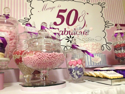 50th Birthday Decoration Ideas For Her