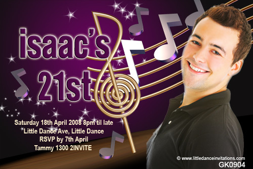 Jazz Themed Party Invitation Musician Jazz Lover Party Invitations