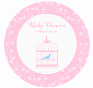 Bird Cage Cake, Cupcake & Cookie Edible Image Icing