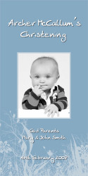 Blue Fields Baptism & Christening Ceremony Candles
