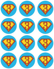 Superhero Cupcake & Cookie Sheets